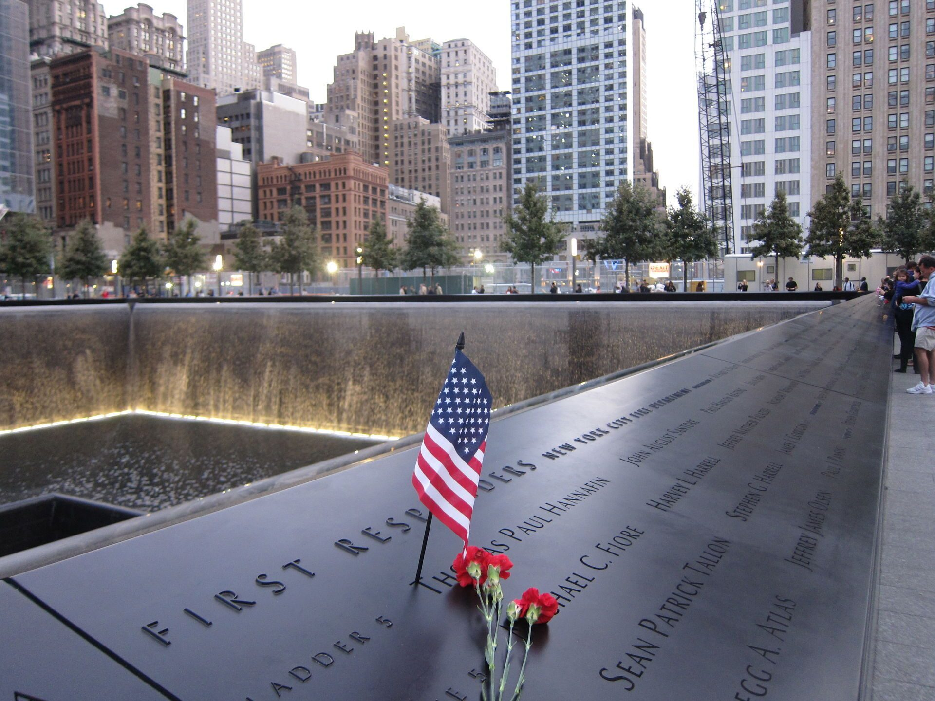 personal memories from the september 11 2001 Attacks of september 11, 2001 and february 26 tracks personal reflections about 9/11 by government officials 2001 and february 26, 1993, honoring the memories.